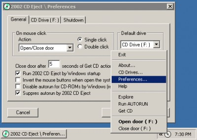2002 CD Eject 2.5 screenshot