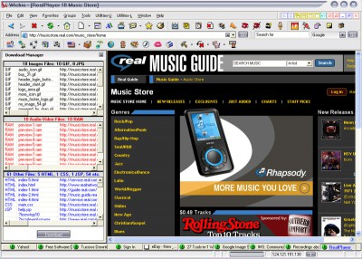 27 Tools-in-1 Wichio Browser 5.10 screenshot