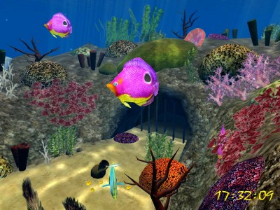 3D Sea Dive screensaver 1.0 screenshot