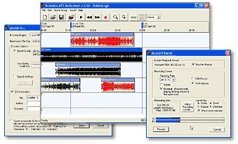 Acoustica MP3 Audio Mixer 2.471 screenshot