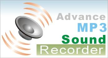 Advance mp3 sound Recorder 1.2 screenshot