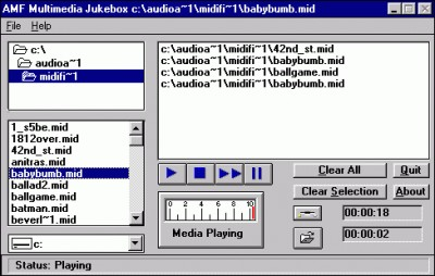 AMF Multimedia Jukebox 2.0 screenshot