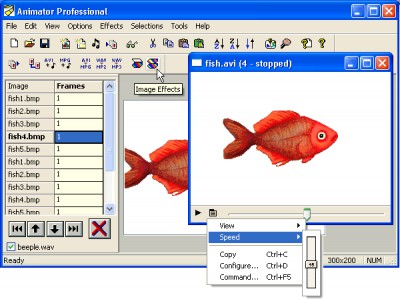 Antechinus Animator Professional 8.6 screenshot