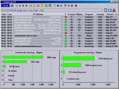 AtomicLog 2.3 screenshot