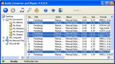Audio Converter and Ripper 4.1.2 screenshot