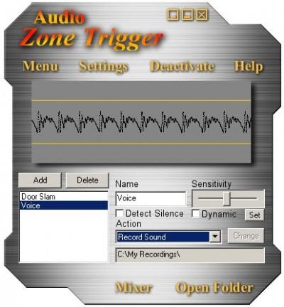 Audio Zone Trigger 1.5 screenshot