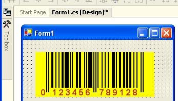 BarCode .NET Control 1.7 screenshot