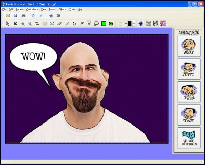 Caricature Studio 2.0 screenshot