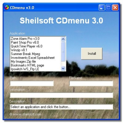 CDMenu 3.0 screenshot