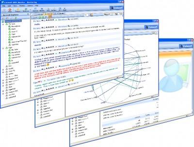 Colasoft MSN Monitor 2.0 screenshot