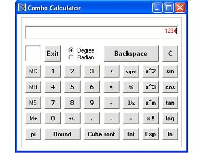 Combo Calculator 1 screenshot