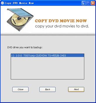 Copy DVD Movie Now 7.3.8 screenshot