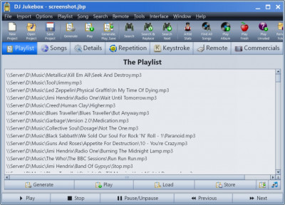 DJ Jukebox 22.0 screenshot
