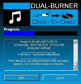 Dual-Burner for MP3 Players 6.5 screenshot