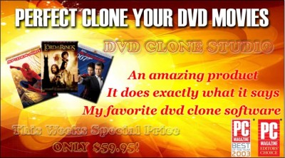 DVD Clone Studio 2.7 screenshot