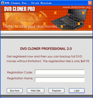 DVD Cloner Pro 7.3.8 screenshot