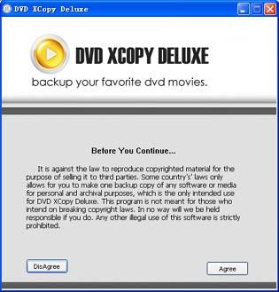 DVD XCopy Deluxe 6.2.0 screenshot