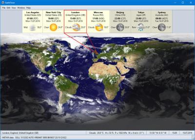EarthTime 6.10.6 screenshot