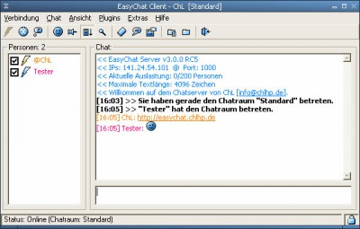 EasyChat 3.0.0 screenshot