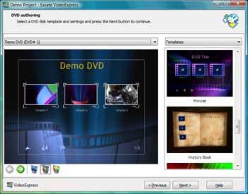 Exsate VideoExpress 3.0.3.557 screenshot