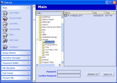 File Lock 6.1.2 screenshot