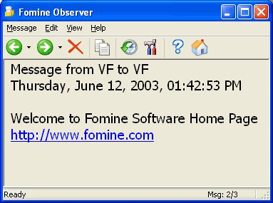 Fomine Observer 1.0 screenshot