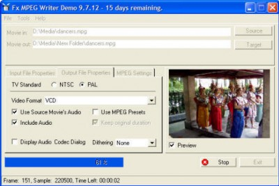 Fx MPEG Writer 9.8.0 screenshot