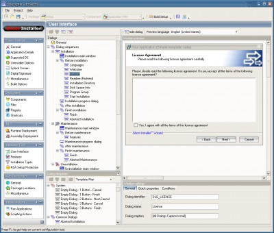 Ghost Installer Studio 4.8.1 screenshot