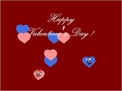Happy Note! Valentine 1.00 screenshot