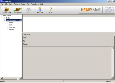 HeavyMail 1.8 screenshot