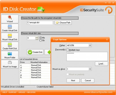 ID Disk Creator 1.2 screenshot