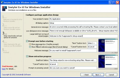 Instyler Ex-it! for Windows Installer 1.00 screenshot