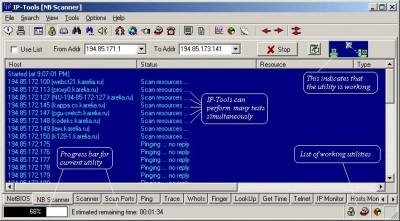 IP-Tools 2.50 screenshot