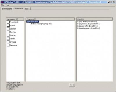 IRAISETUP 1 screenshot