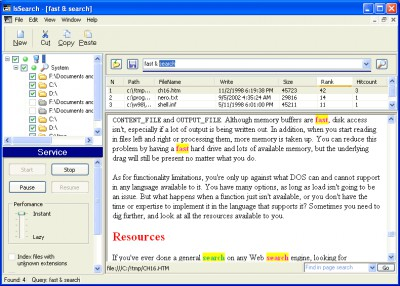IsSearch 1.1.9 screenshot