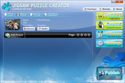 Jigsaw Puzzle Creator 3.1.0 screenshot