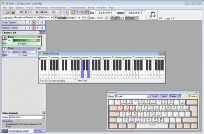 KB Piano 2.5 screenshot