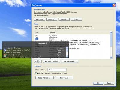 Key Launch 2.0 screenshot
