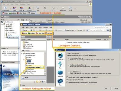 Lockspam Pro 3.0 screenshot
