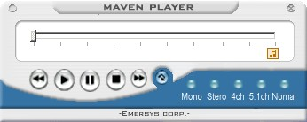 Maven Player 1.0 screenshot