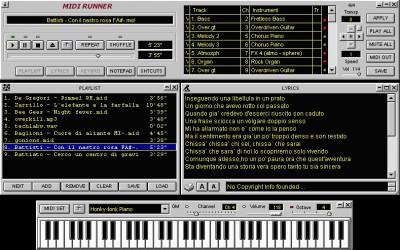MidiRunner 1.39.0.3 screenshot