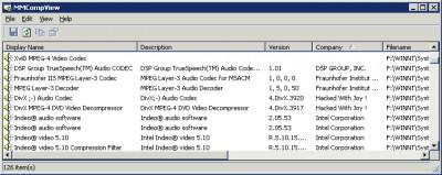 MMCompView 1.10 screenshot