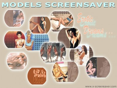Models Screensaver 1.5 screenshot