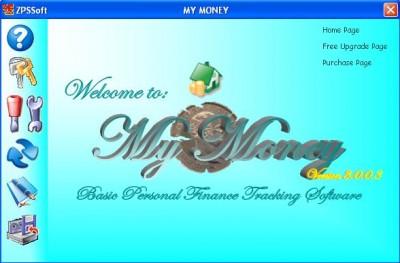 My Money 4.0.0.0 screenshot
