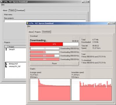 NCT Xpress Download 2.0.2 screenshot