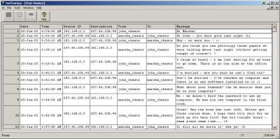 NetChatSpy 2.5.0 screenshot