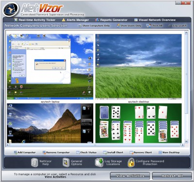 NetVizor 6.01 screenshot