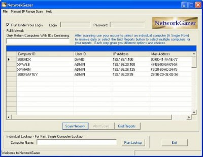 NetworkGazer 1.0.0 screenshot