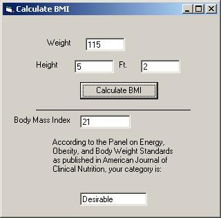 Phentermine BMI Tool 1.0 screenshot