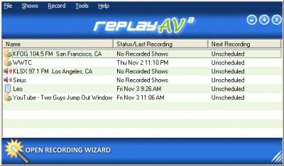 Replay AV 8.82 screenshot